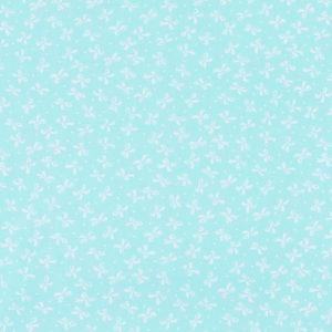 ткани оптом бязь плательная в рулонах бантики мята