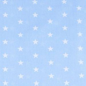 ткань на отрез бязь постельная звезды