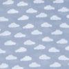 ткань бязь плательная на отрез в розницу облака