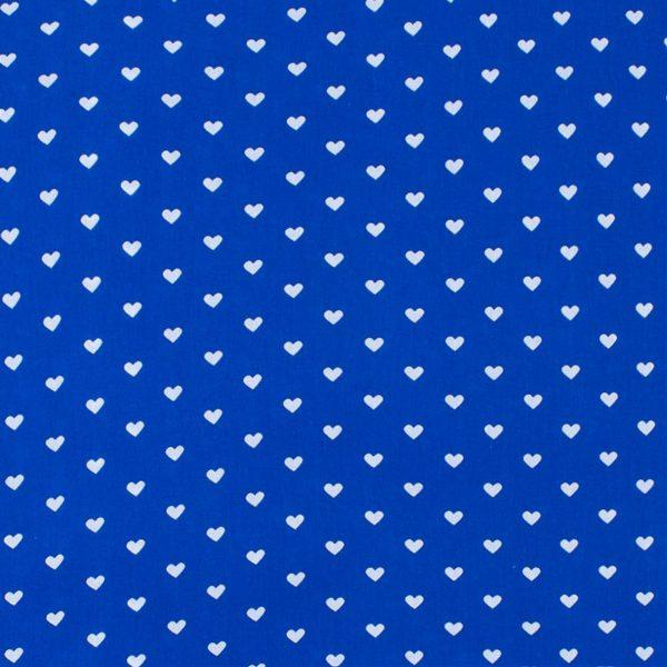 ткани оптом бязь плательная в рулонах сердечки василек