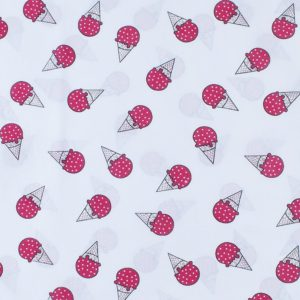 ткани оптом бязь плательная в рулонах мороженое красный