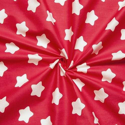 ткани оптом бязь плательная в рулонах прянички красный