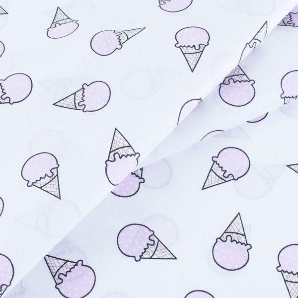 ткани оптом бязь плательная в рулонах мороженое розовый