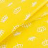 ткани оптом бязь плательная в рулонах короны желтый