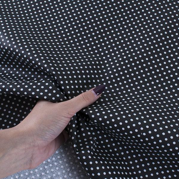 ткань бязь плательная на отрез в розницу горох