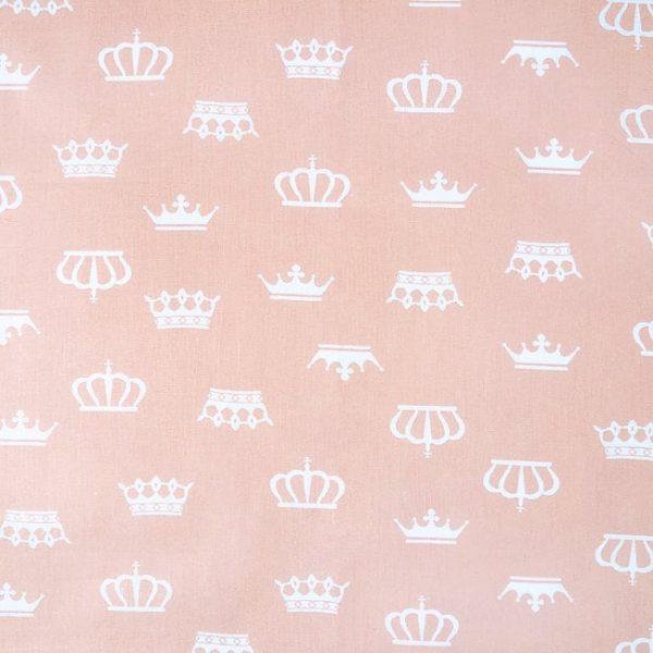 купить ткань бязь оптом в рулонах Короны Персик