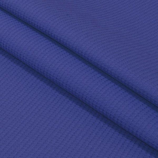 Вафельное полотно гладкокрашенное в рулоне 50 м шир. 150 см Темно-синий
