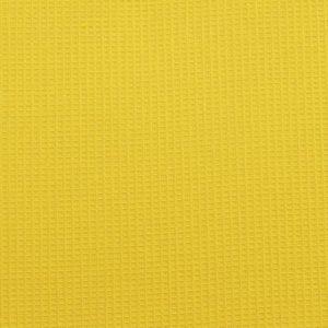 Вафельное полотно гладкокрашенное в рулоне 50 м шир. 150 см Желтый