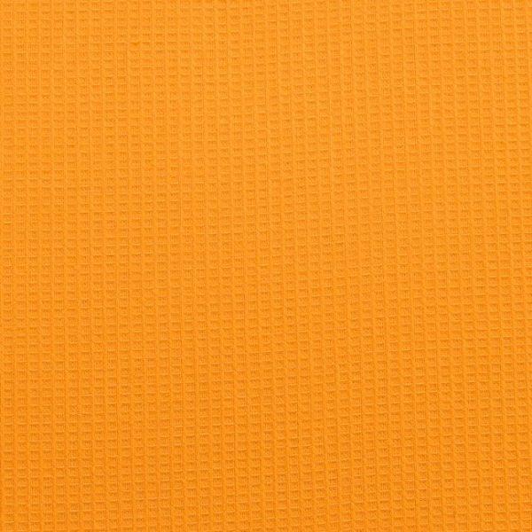 Вафельное полотно гладкокрашенное в рулоне 50 м шир. 150 см Оранжевый