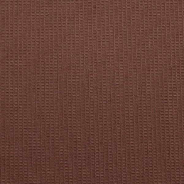 Вафельное полотно гладкокрашенное в рулоне 50 м шир. 150 см Коричневый