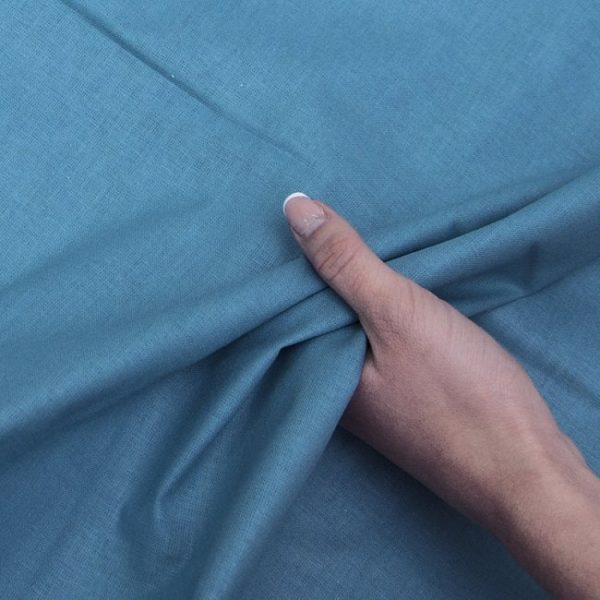 Ткань на отрез бязь ГОСТ Шуя 150 см Морская волна