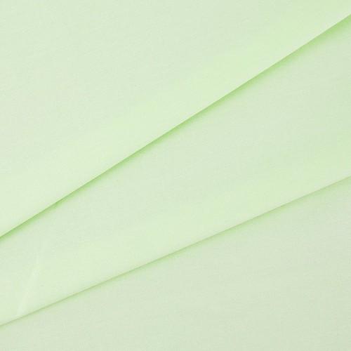 купить ткань поплин однотонный на отрез Салатовый