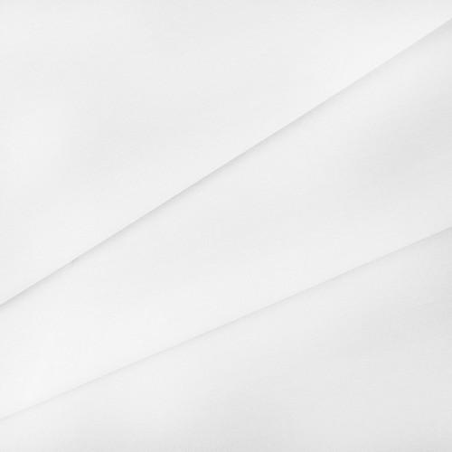 купить ткань поплин однотонный на отрез Белый