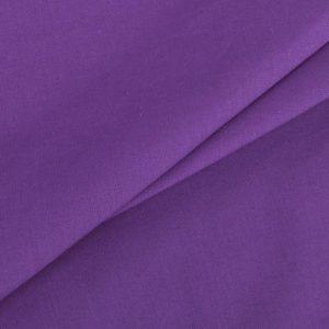 купить ткань поплин однотонный на отрез Фиолетовый