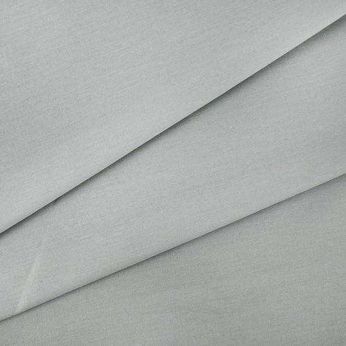 купить ткань поплин однотонный на отрез Серый