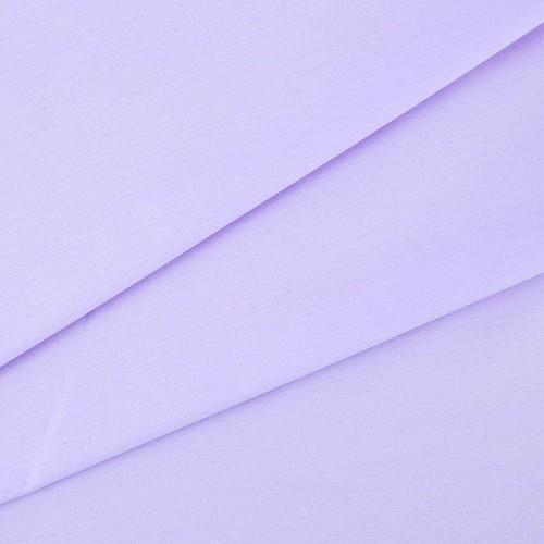 купить ткань поплин однотонный на отрез Сиреневый