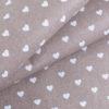 ткань бязь плательная на отрез в розницу сердечки