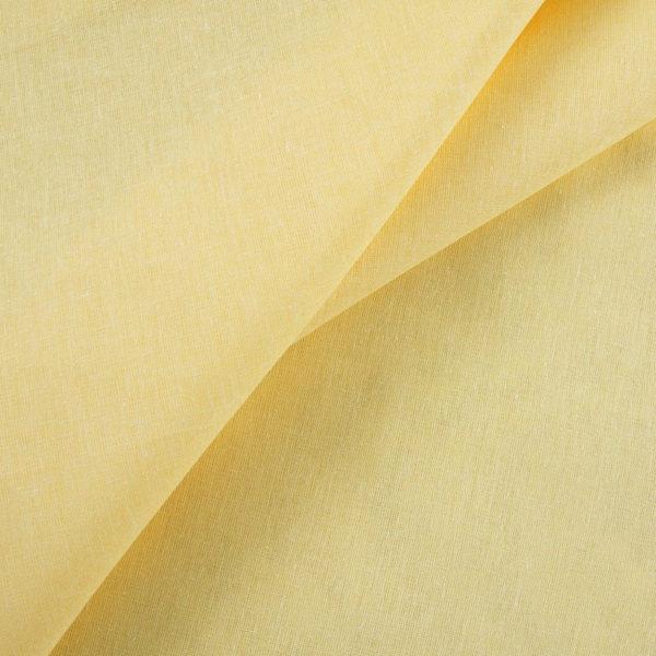 ткань бязь ГОСТ однотонная оптом в рулоне Желтый