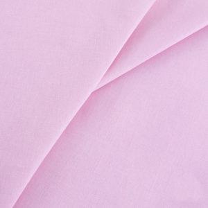 ткань бязь однотонная оптом в рулоне Розовый