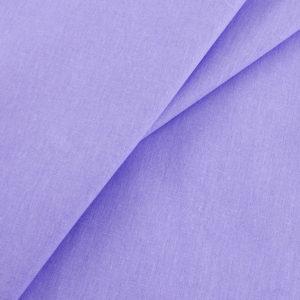 ткань бязь однотонная оптом в рулоне Сиреневый