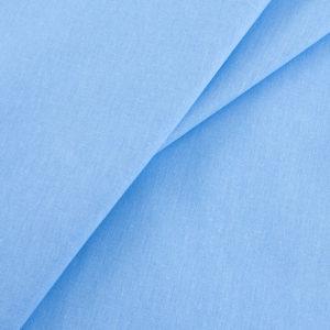 ткань бязь однотонная оптом в рулоне голубой