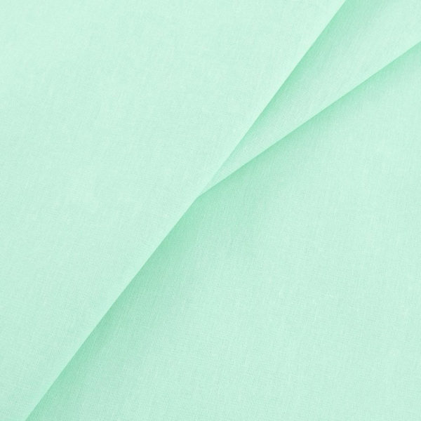 ткань бязь однотонная оптом в рулоне мята