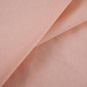 ткань бязь однотонная оптом в рулоне Персик