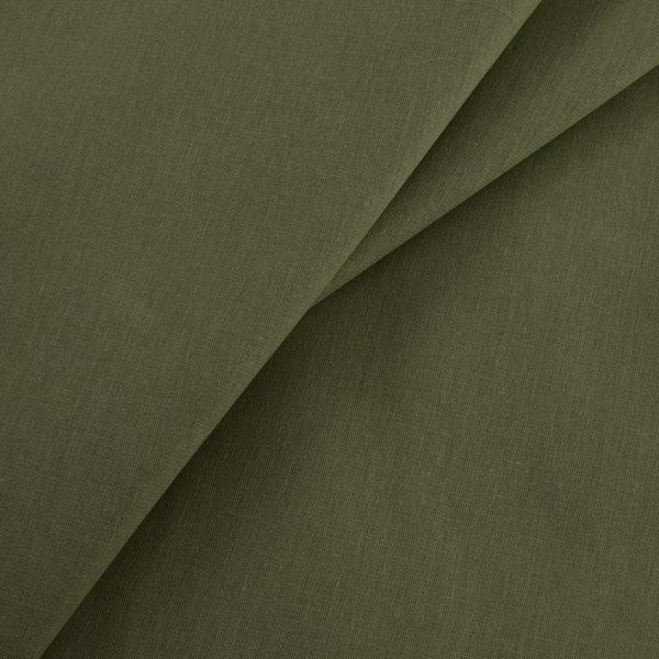 ткань бязь ГОСТ однотонная оптом в рулоне Олива