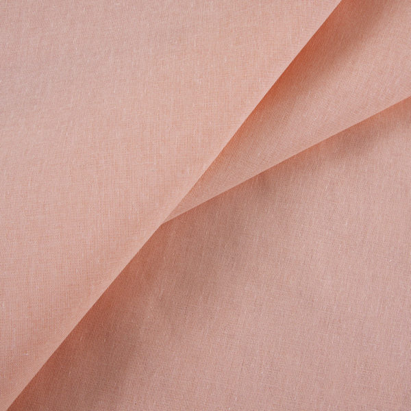 ткань бязь ГОСТ однотонная оптом в рулоне Персик