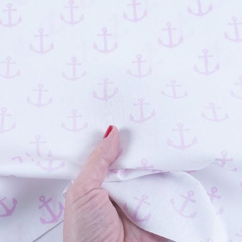 ткань на отрез бязь плательная якоря