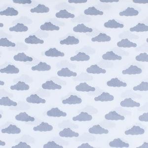 ткани оптом бязь плательная в рулонах облака серый