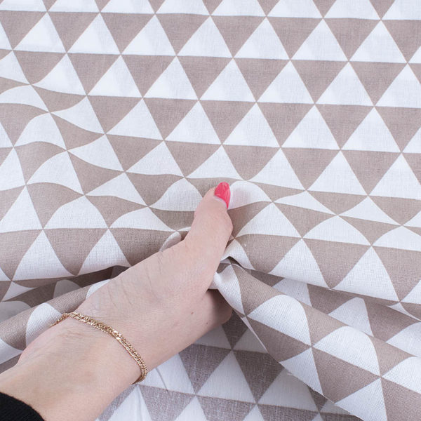 ткани оптом бязь плательная треугольники