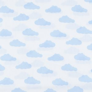 ткань на отрез бязь плательная облака