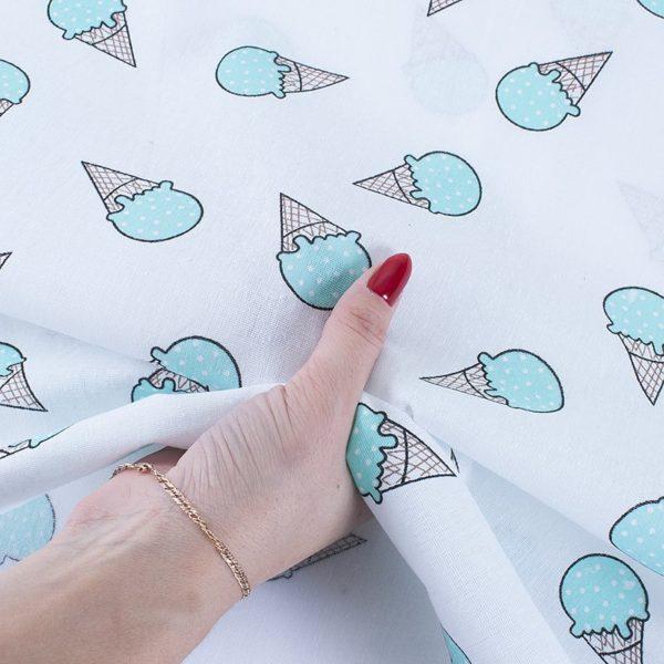ткани оптом бязь плательная в рулонах мороженое мята