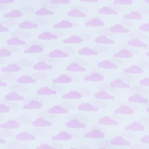 ткани оптом бязь плательная в рулонах облака розовый