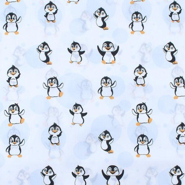 ткани оптом бязь плательная в рулонах веселый пингвин