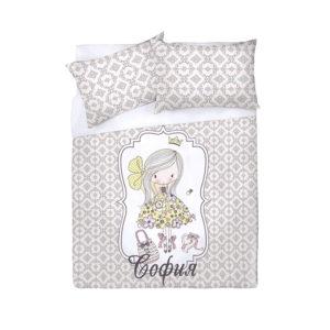 детское постельное белье поплин