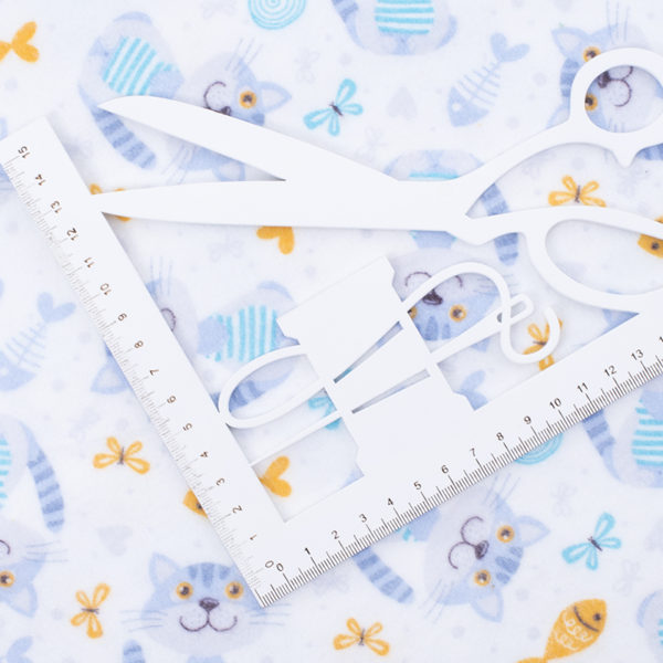 ткань на отрез фланель детская