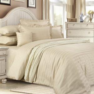 постельное белье страйп-сатин