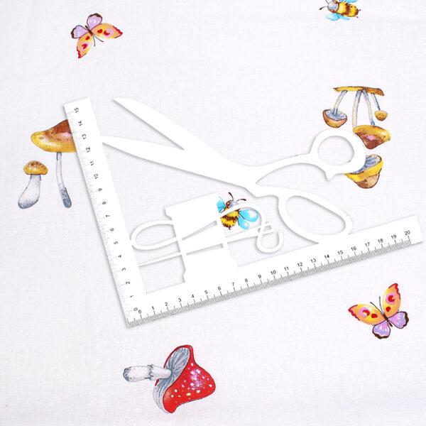ткани на отрез поплин детский 150