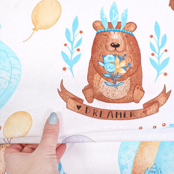 ткань на отрез бязь плательная детская 150 розница