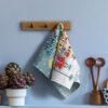 ткань на отрез вафельное полотно купить дешево иваново в розницу 50см